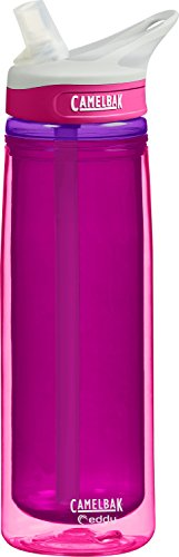 CamelBak Eddy Insulated Water Bottle, Flamingo, .6-Liter