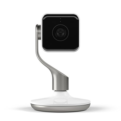 Hive View Smart Indoor Camera - White and Champagne Gold
