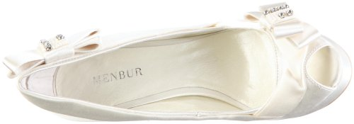 Menbur Tela Marfil Zapatos 04521 Cocorosie Novia Mujer De Para vxvrg1wqT