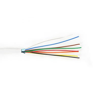 8C/22 AWG STRANDED SHIELDED w/DRAIN, PVC JKT- WHITE- 1000 FT/305 M BOX Distributed by NAC Wire and Cables