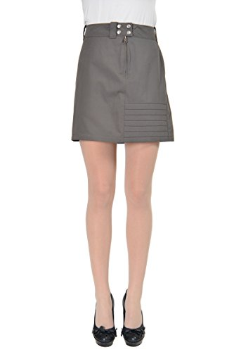 Maison Martin Margiela MM6 Women's Gray Mini Skirt US M IT (Martin Margiela Women Skirts)