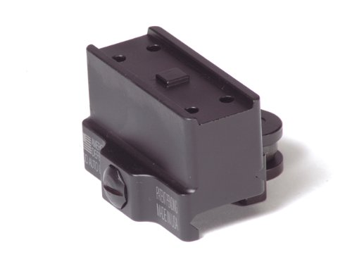 American Defense AD-T1-11 STD Riflescope Optic Mount, Black