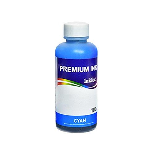Inchiostro INKTEC Cyan compatibile con cartucce Canon CLI-551 C per stampante Canon Pixma MX925, MX920, iX6850, MG7150, MG5450, iP7250, MG6450, MG5550 Stampa Continua
