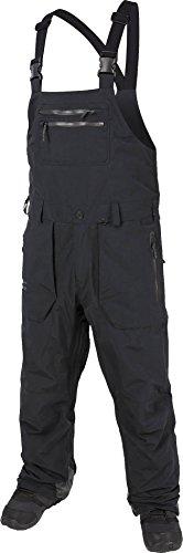 Volcom Men's Rain GTX Bib Overall, Black, M (Gore Tech Rain Pant Tex)
