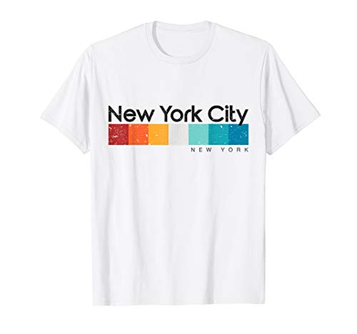 Retro Shirt 1980s - Vintage New York City 1980s Retro T-shirt