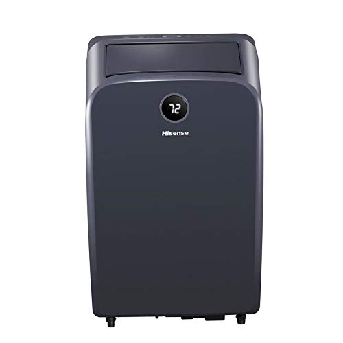 Hisense AP13HR2G 12.5K BTU Portable Air Conditioner with 4-in-1 AC (Cooling Fan dehumidify and Heating Modes of Operation) (Renewed)