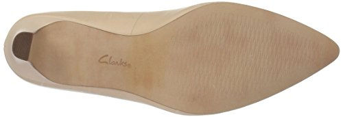 Clarks Mujeres Crewso Wick Dress Pump Nude Pink Leather