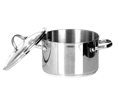 Tools of the Trade 3 Quart Covered Soup Pot Stainless Steel