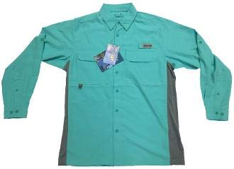 Bimini Bay Outfitters Gulf Stream Long Sleeve Shirt (XXX-Large, Cockatoo) by Bimini Bay Outfitters