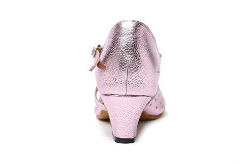 Minitoo ,  Damen Ballsaal , Pink - rosa - Größe: 35 EU
