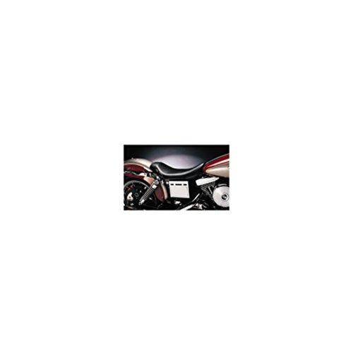 Le Pera Bare Bones Solo Vinyl Seat for 1991-2010 Harley Davidson Dyna Models - HD FXDWG/I Dyna Wide Glide 1996-2003