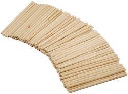Bulk Buy: American Classics Natural Wood Dowel 1/8'X4' 100/Pkg (6-Pack)