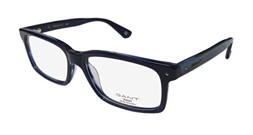 Gant Rugger GR LINDEN Navy Horn Men's Eyeglasses - Gant Glasses