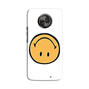 Cover It Up - Upside Down Smile Moto X4 Hard Case