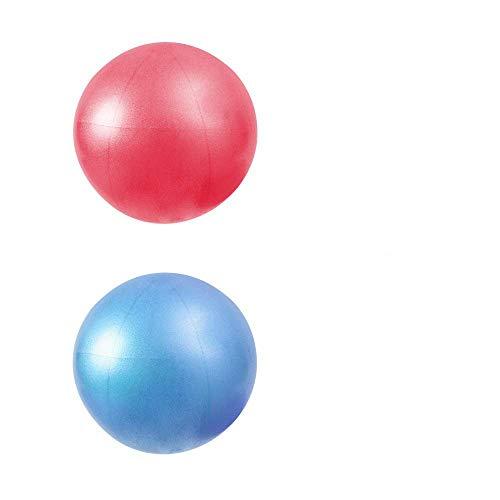 - MU-MOON Mini Fitness Exercise Ball Kit for Yoga, Pilates, Body Balance, Stability and Core Training, 8