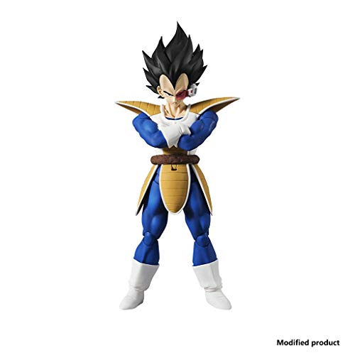 Siyushop Dragon Ball:Vegeta Dragon Ball Z Action Figure Dragon Ball Super Action Figure - Highly Detailed Accurate Sculpt - Includes Multiple Replaceable Hands and Expressions - High 6.3 Inches (Dragon Ball Toys Gohan)