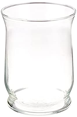 Libbey Adorn Hurricane Vase Candle Holder Clear, Set of 4