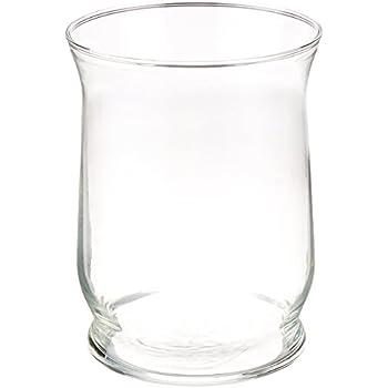 Amazon Com Set Of 12 Eastland Glass Adena Hurricane Vases