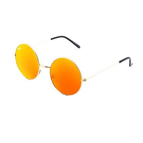 Gafas sol mujer Naranja TWIG hombre BRETON degradadas Bronce de espejo rfBxq7rv