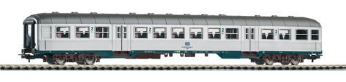 Piko 57654 DB 2nd Class Coach Silver IV by Piko ()