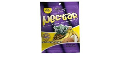 Syntrax Nectar Grab N Go, Caribbean Cooler, 12 packets, 11.4 Oz. by Syntrax