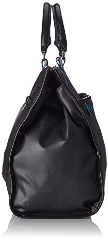 Piquadro Business Tote with Removable Notebook and iPad Mini Organizer Panel, Black, One Size by Piquadro (Image #2)