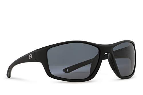 Rheos Eddies Sport Style Floating Polarized Sunglasses | 100% UV Protection | Floatable Shades | Ideal for Fishing and Boating | Anti-Glare | Unisex | Gunmetal | ()