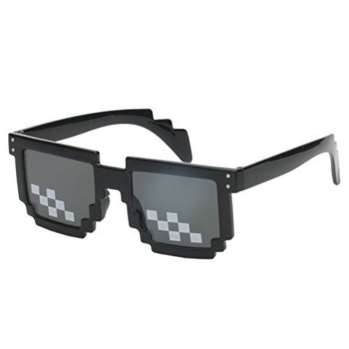 (Thug Life Glasses Pixel Code Sunglasses Anime Peripheral)
