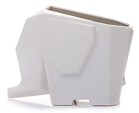 M-G-X - Escurridor de cocina de elefante, para cubiertos, el cuarto de baño, cosmética, soporte organizador, caja de almacenaje: Amazon.es: Hogar