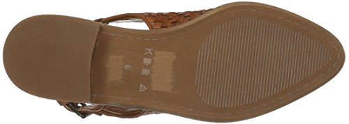 Women's Cinnamon Dagger Flat Toe Brooklyn Kelsi Pointed Amity RBwqFqxp
