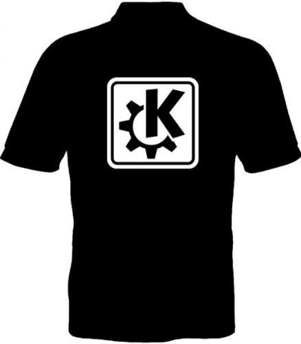 Fruit of the Loom Polo-Shirt - KDE-Logo