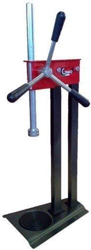 GRIFO MACCHINE ENOLOGICHE SNC TCCR 2T - Taponadora de cremallera con doble cojinete para chapas de 26/29-31 mm