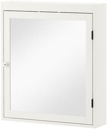 Ikea Silveran El gabinete del Espejo, Blanco 60x14x68 cm