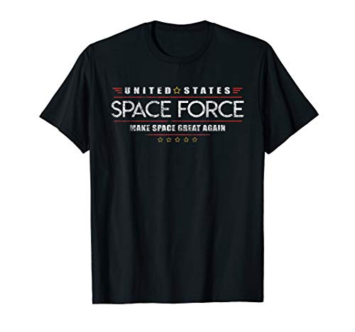 Space Force Shirt. Retro Style T-Shirt