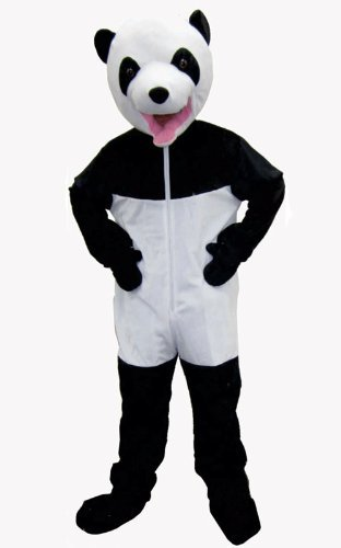 Dress up America Giant Panda Costume Set (M) by Dress Up America (Medium (8-10))
