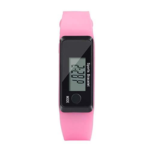 Axiba Clearance Sale!Unisex Watches, Unisex Digital LCD Pedometer Run Step Walking Distance Calorie Counter Watch Bracelet Wristband Sports Fitness Tracker (G)