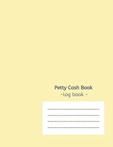 (Petty Cash Book: Ledger Notebook Entry Column Log Simple Analysis)