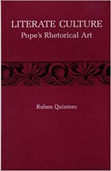 Literate Culture: Pope's Rhetorical Art