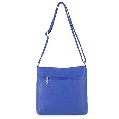 nigsblau 28x26x2 ca Sac Bleu Taille Dunkelblau Cm 32x23x9 Cm bandoulière à 30x27x14 Bleu Moontang BxHxT coloré cm Femme K TaFxwAqn1