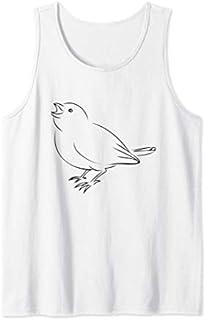 Momma Bird  Tank Top T-shirt | Size S - 5XL