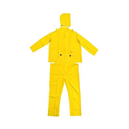 Falcon 201-3502X Premium 3-Piece Rain-Suit, Rain-Coat, Rain-Jacket, Size 2XL (5 Pack)