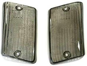 Pair of rear plastic arrows Vespa PK XL FL smoke HP