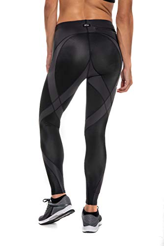 CW-X Women's Pro Running Tights,Black,Small by CW-X (Image #2)
