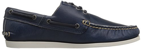 FRYE Men's Briggs Boat Shoe Blue discount wholesale price UaLzb