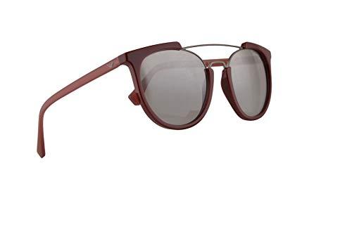 c88600aff5e9 Emporio Armani EA4122 Sunglasses Bordeaux w Light Grey Mirror Gradient  Silver Lens 53mm 57216V EA