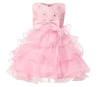 Girl Dresses Kids Ruffles Lace Party Wedding Dresses