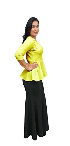 DBG - Camisas - para mujer amarillo