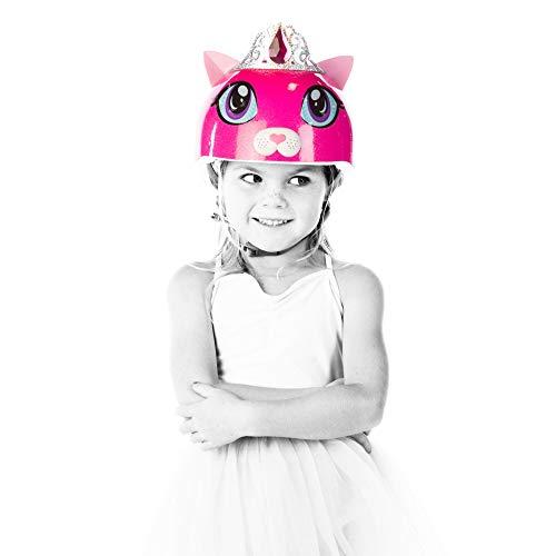 Raskullz Girls Kitty Tiara Helmet, Dark Pink, Ages 5+ by Raskullz (Image #4)