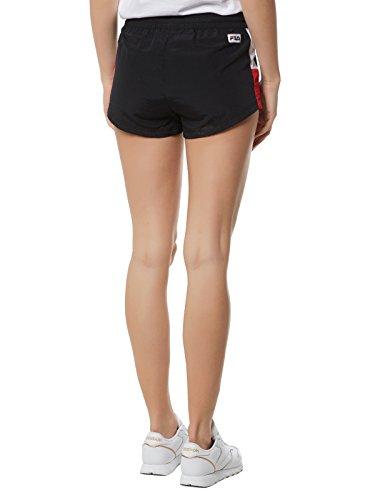 Brianna Fila Formato Woven Pantaloncini large L Nero bianco rosso AxwROSq