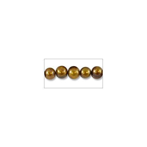 Bronze Potato Pearls - Freshwater Potato Pearl Antique Bronze Mix 8-9mm (16